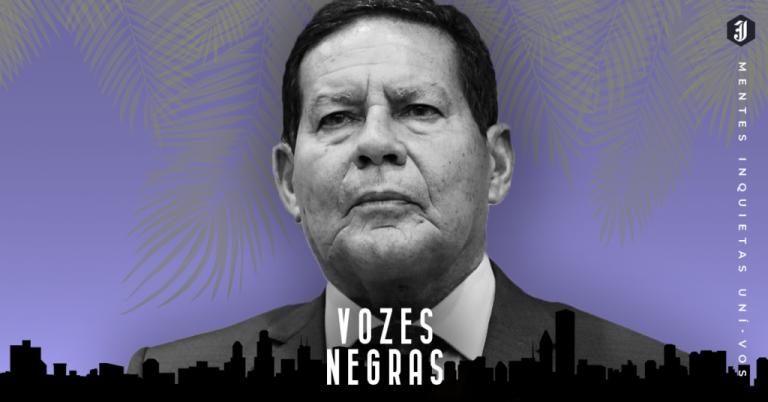 General Mourão e o racismo de denegação